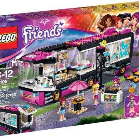 Lego friends 41106 Pop Star Žvaigždžių turo autobusas