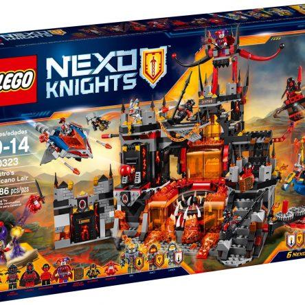 LEGO Nexo 70323 Knights Jestro's Volcano Lair